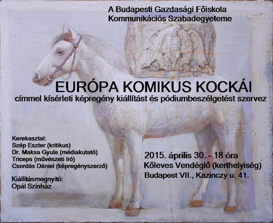 Europa komikus kockai (plakat)