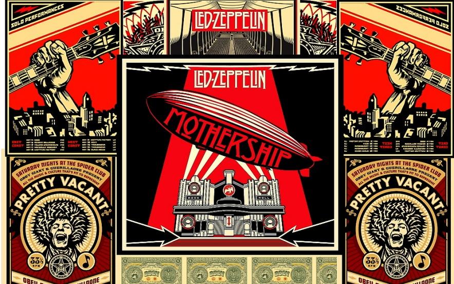 Led Zeppelin: Mothership (Armin plakátja)