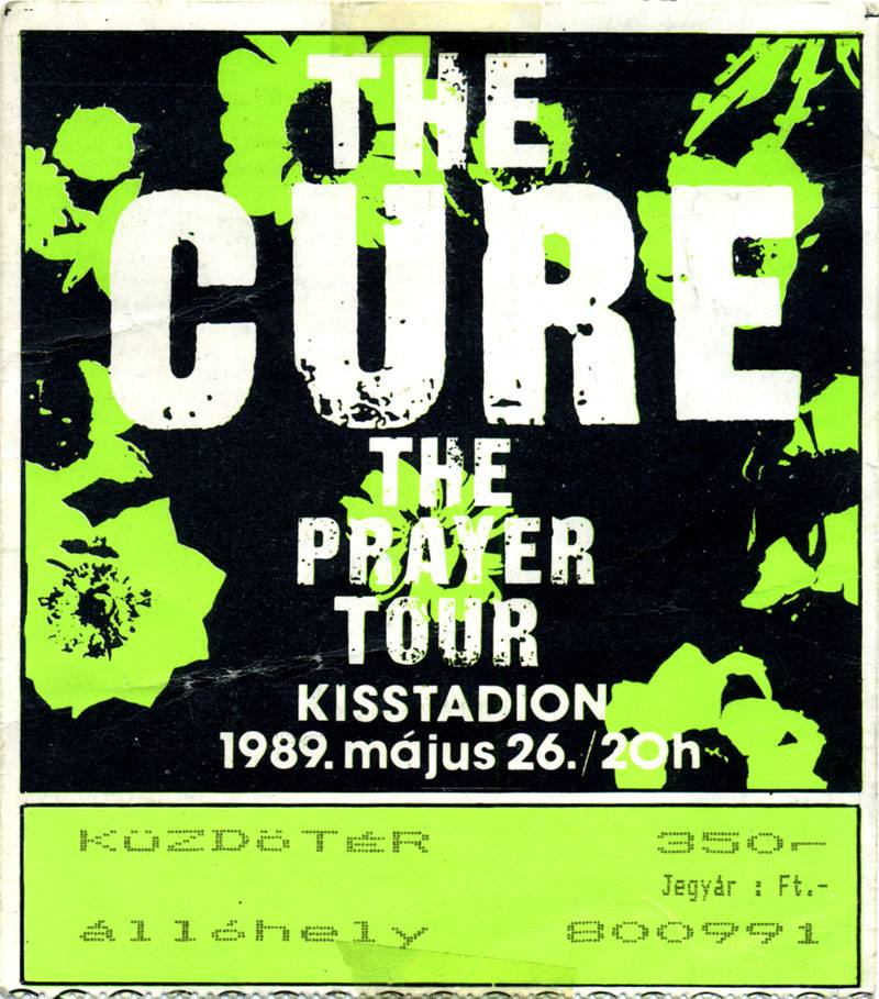 The Cure jegy